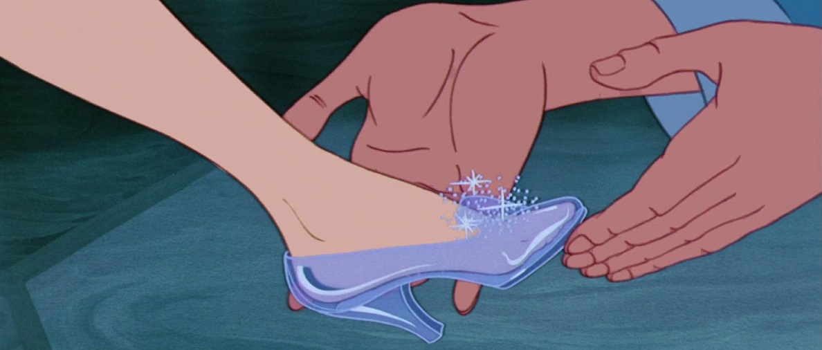 Don't lose your glass slipper at midnight!